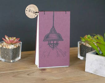 Bright Ideas Notepad (Burgundy)