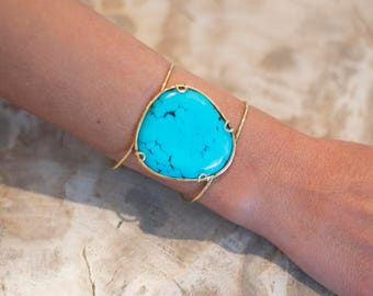 CUFF TURQUOISE COLOR