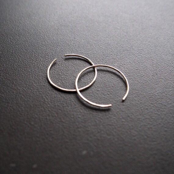 Circle Threader Earrings