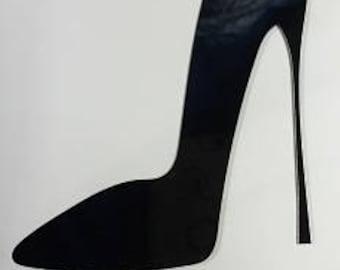 High Heel Acrylic topper