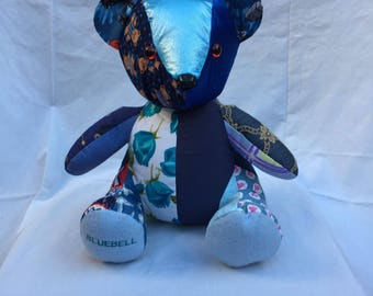 Bluebell : The Patchwork Bear