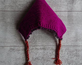 Anna style winter bonnet