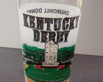 Collectible Kentucky Derby 109 Libbey Julep Glass May 1983 Churchill Downs Louisville Horse Racing