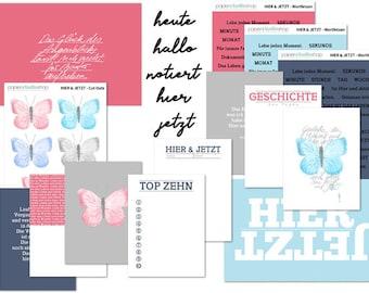 105-Here & now April Kit Digital