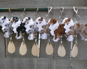 Australian Shepherd dog decorative display hang anywhere crate tag, Choose from Multiple Colors, Magnet option