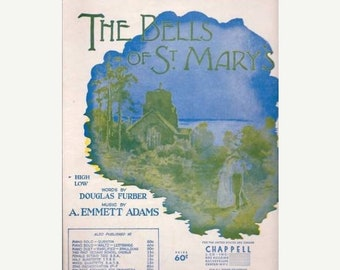 BTS The Bells of St. Mary Sheet Music