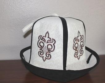 Traditional Kyrgyz Kalpak Hat