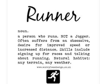 Runner's Card - Runner Definition