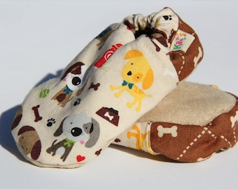 Puppy Soft Sole Baby Shoes