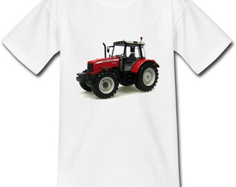 Child's T-shirt Red Tractor - sizes baby and child