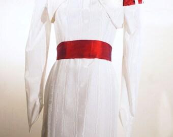 The Sheath Dress---'57 Retro---Amazing Silk Wedding Separates