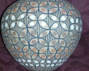 Jemez Pueblo Seed Jar by Sabaquie Native American Pottery