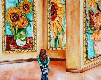 Prints, van Gogh Print, van Gogh Artwork, Vincent van Gogh, Wall Art Print, Home Decor, Sunflowers