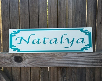 Name Signs for Kids Name Sign for Nursery Name Sign Kids Wood Sign Wall Decor Personalized Name Sign Wall Decor Wall Art Home Decor Signage