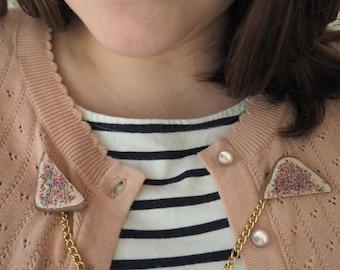 Fairy Bread sweater clips