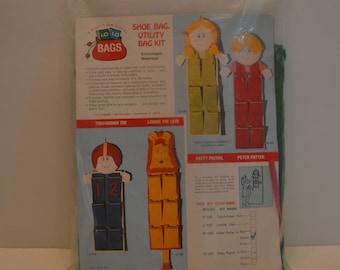 1974 Shoe Bag Utility Bag Kit NEVER BEEN OPENED!