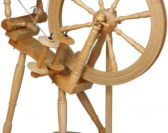 Kromski Prelude Clear Spinning Wheel Free Shipping Special  BONUS