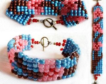 Bead Weaving Loom Bracelets Set K-O