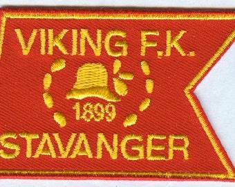 Viking Fotballklubb FK Stavanger Norwegian Norway Football Embroidered Patch