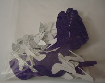 High Heel Shoe confetti CUSTOM MADE  Table Decor 100 pieces