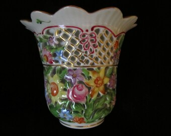 SALE !!!! PRICE DROP!!!!   Herand Open Work Vase