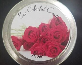 Rose Candle 8oz