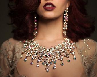 Couture Nearly  Nude Rhinestone Pasties