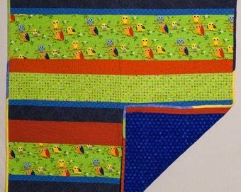Baby quilt or wall hanging