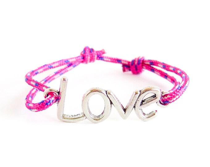 Love Bracelet Couples. Love Bracelet Men. Love Bracelet Women of Adjustable Rope. Eternity Cuff Gift for Girlfriend, His and Hers Jewelry