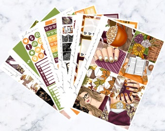 Autumn in Tennessee: October Mystery Luxe Sticker Kit