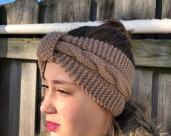 Hand Knit Head Wrap