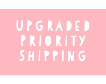 Upgraded Priority Mail Shipping Add On