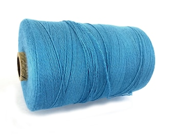 Sky Blue Twine Bamboo Cord 0.7mm - 10 meters / 32.8 ft
