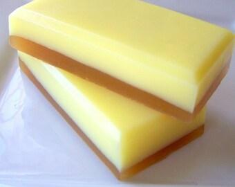 Iced Lemon Biscotti Goats Milk Soap