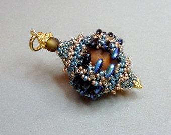 Pepino (beaded pendant)/ PDF file