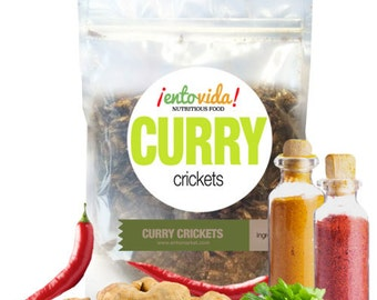 Edible Insects   Curry Crickets