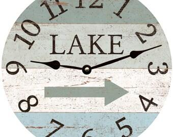 Lake Arrow Clock
