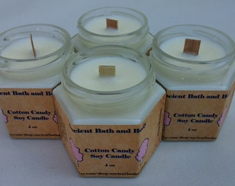 Cotton Candy Natural Soy Candle
