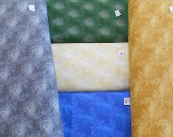 """AWESOME! 108"""" WIDE quilt backing fabric 100% cotton luminescent 9.99 per yard"""