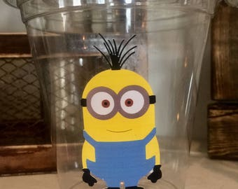 12 minions 12 oz disposable party cups