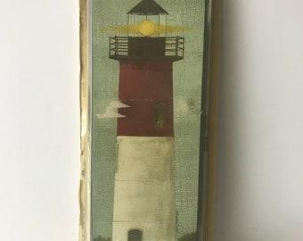 Coat Rack, Towel Rack, Lighthouse Rack, Decor Rack, Hat Rack, Beach Decor, Decorative Wall Rack, Lighthouse Decor, Single Peg Rack