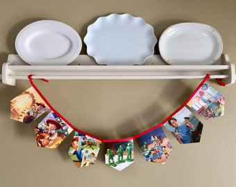 Toy Story Storybook Banner, Garland, Bunting