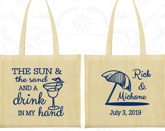 Custom Tote Bags, Tote Bags, Wedding Tote Bags, Personalized Tote Bags, Wedding Welcome Bags, Wedding Bags, Wedding Favor Bags (298)
