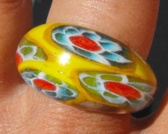 Ring entirely glass BAG.1011