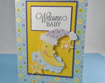 Welcome Baby Gift Card Holder -- Baby Gift Card Holder -- Baby Card -- Gift Card Holder for Baby -- Baby Shower Gift Card Holder