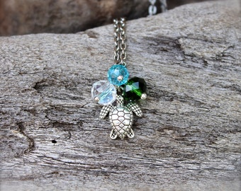 Sea Turtle Jewelry from Hawaii - Hawaiian Honu Necklace - Sea Turtle Necklace - Hawaiian Jewelry - Hawaii Honu Jewelry - Hawaii Necklace