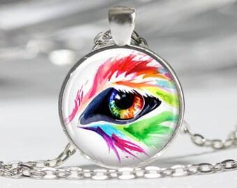 Eye Jewelry Eye Necklace Wearable Art