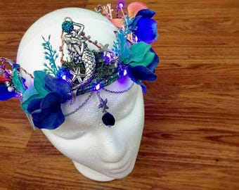 LED Mermaid Faerie Crown