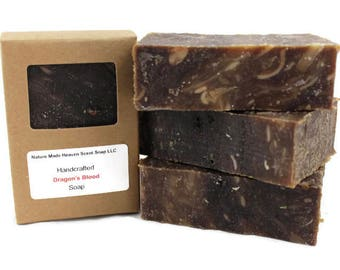 Dragon's Blood Bar Soap 5.5 oz., Cold Process, Handmade