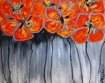 Contemporary Art - 1 Blank Art Card